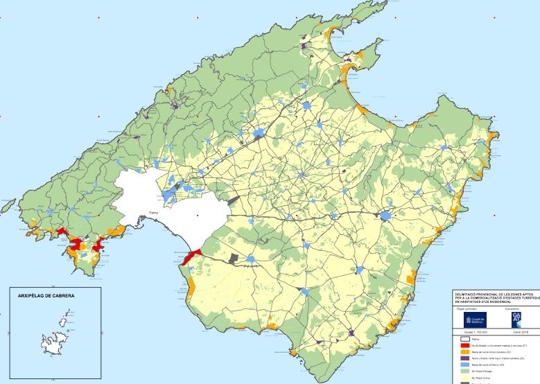 Ferienvermietung auf Mallorca - wo darf vermietet werden?